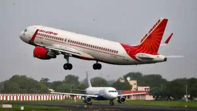 the standalone net loss of Air India Ltd stood at  ₹7,017.42 crore in the year through 31 March 2021, down from a  ₹7,765.73 crore loss recorded in the previous year, according to a statement submitted by the airline to the BSE. (REUTERS)