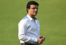 Cricketer-turned-commentator and president of Board of Control of Cricket in India (BCCI Sourav Ganguly. (AFP)