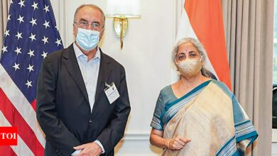 Sitharaman meets top WTO official in US amidst India's push for IPR waiver on Covid-19 vaccines